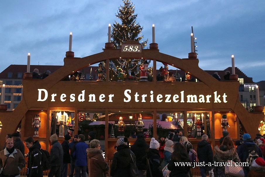 Drezno Striezelmarkt