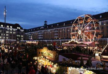 Święta w Niemczech, Drezno Striezelmarkt