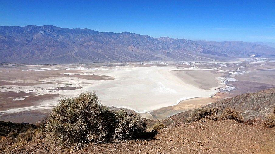Najpiękniejsze parki narodowe USA, Dolina Śmierci
