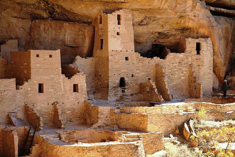 Najpiękniejsze parki narodowe USA, Mesa Verde