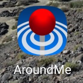 Around me aplikacja na telefon dla podróżnika