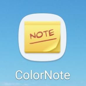 ColorNote 1 - Najlepsze aplikacje dla podróżnika