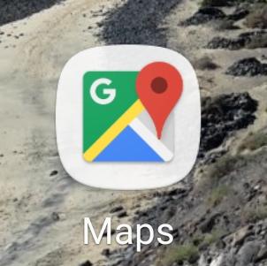 Google Maps aplikacja na telefon dla podróżnika