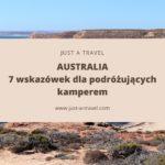 7 wskazówek dla podróżujących kamperem przez Australię