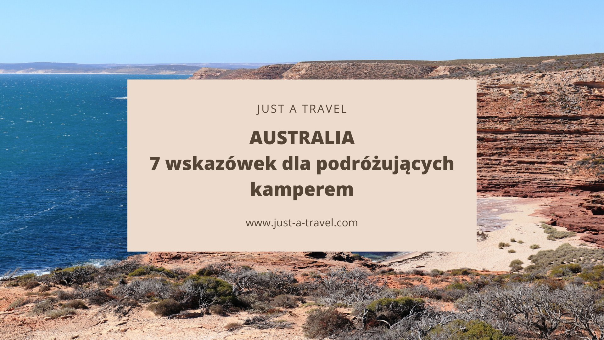 Kamperem przez Australię Wskazówki