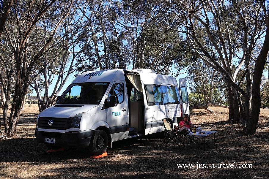 Najpiękniejsze kempingi w Australii Discovery Lagoon Camping