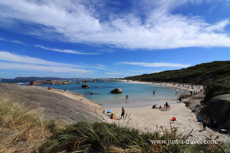 Plaża Green Pools w Australii Zachodniej