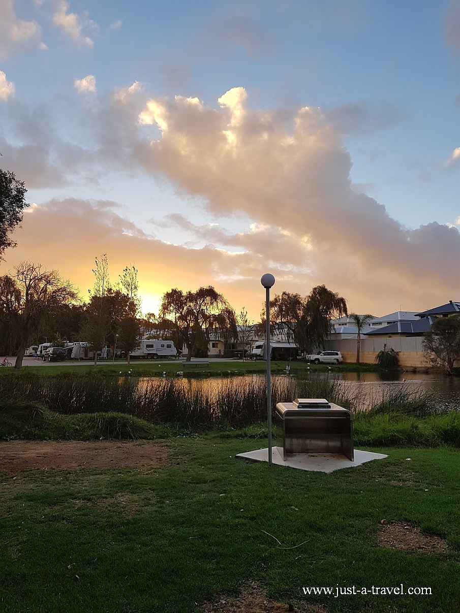 Najpiękniejsze kempingi w Australii Karrinyup Water Resort