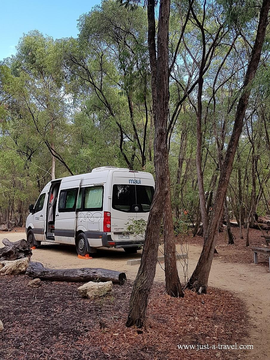 Martins Tank campground