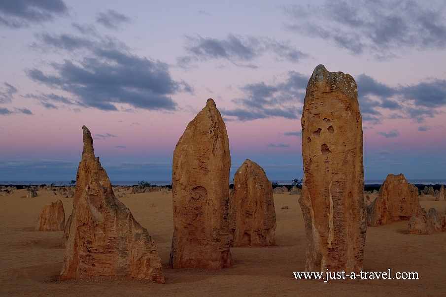 Park Narodowy Nambung, Pinnacles
