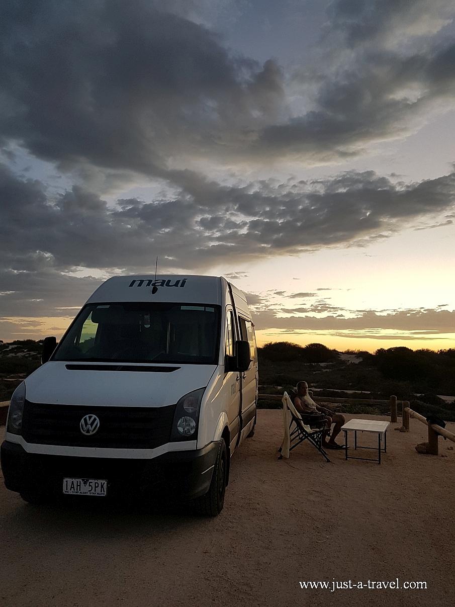Osprey Bay campground