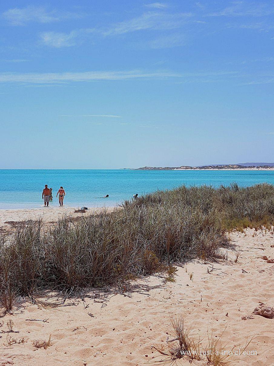 Najlepsze plaże w Australii, Turquise Bay, Park Narodowy Cape Range, Australia