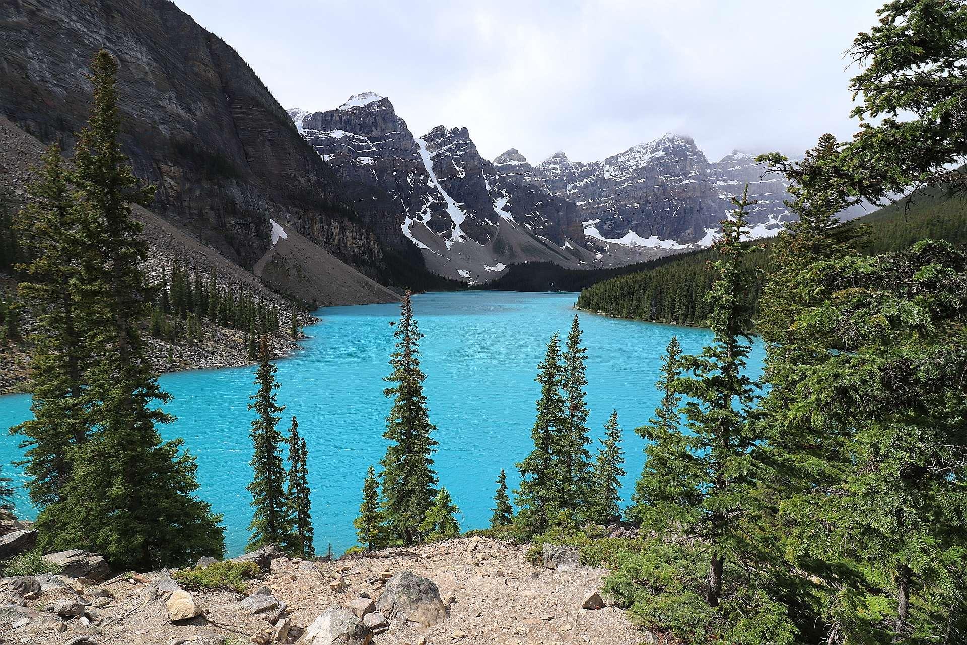 Park Narodowy Banff Moraine Lake