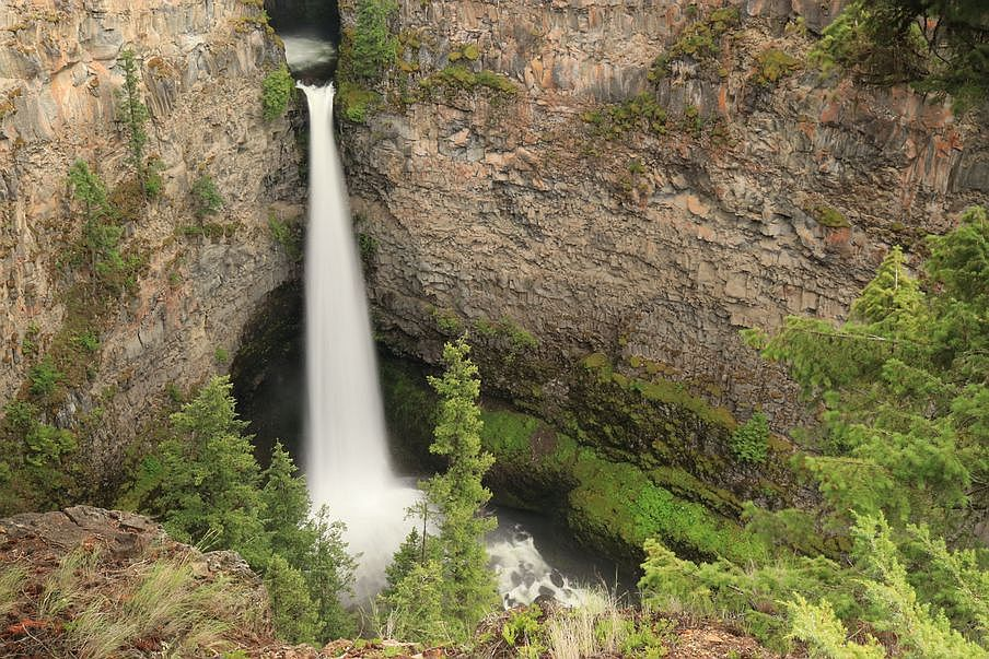 Wodospad Spahats Creek