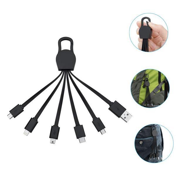 Pomysły na prezent dla podróżnika multi kabel do ładowania