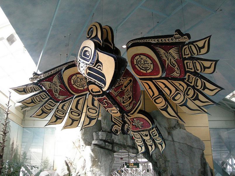 Lotnisko w Vancouver Kanada