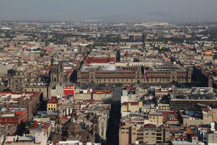 Miasto Meksyk miasta kolonialne Meksyku