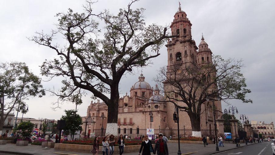 Morelia miasta kolonialne Meksyku