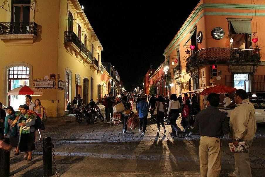Oaxaca miasta kolonialne Meksyku