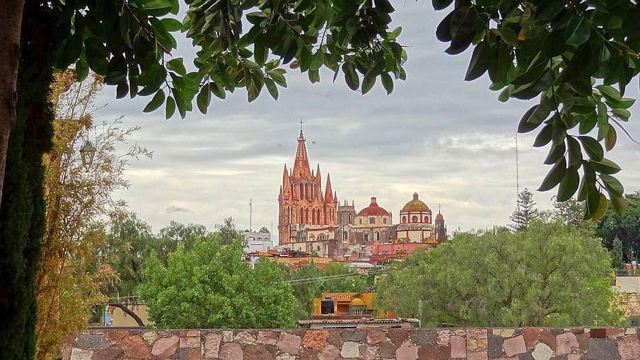 San Miguel de Allende miasta kolonialne Meksyku
