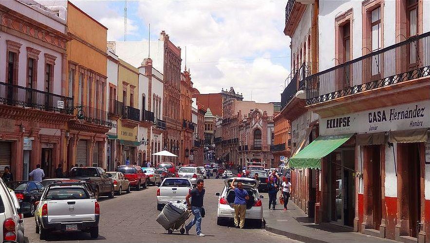 Zacatecas miasta kolonialne Meksyku