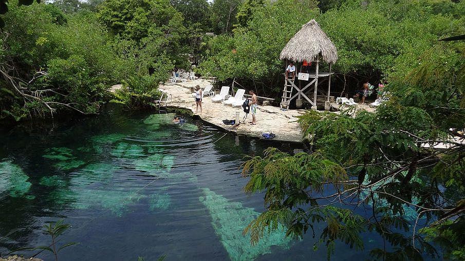 Co warto zobaczyć na Jukatanie, Cenoty