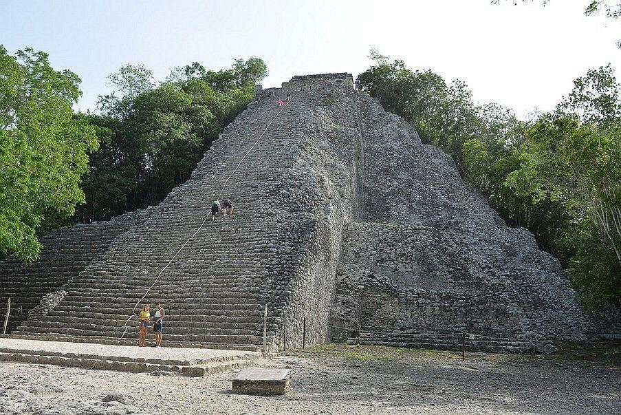 Co warto zobaczyć na Jukatanie, Coba