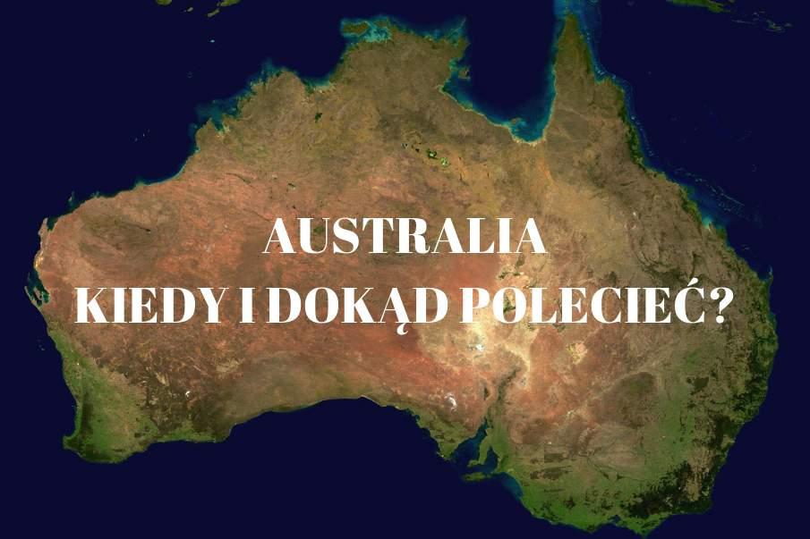 Najlepsza pogoda na podróż do Australii
