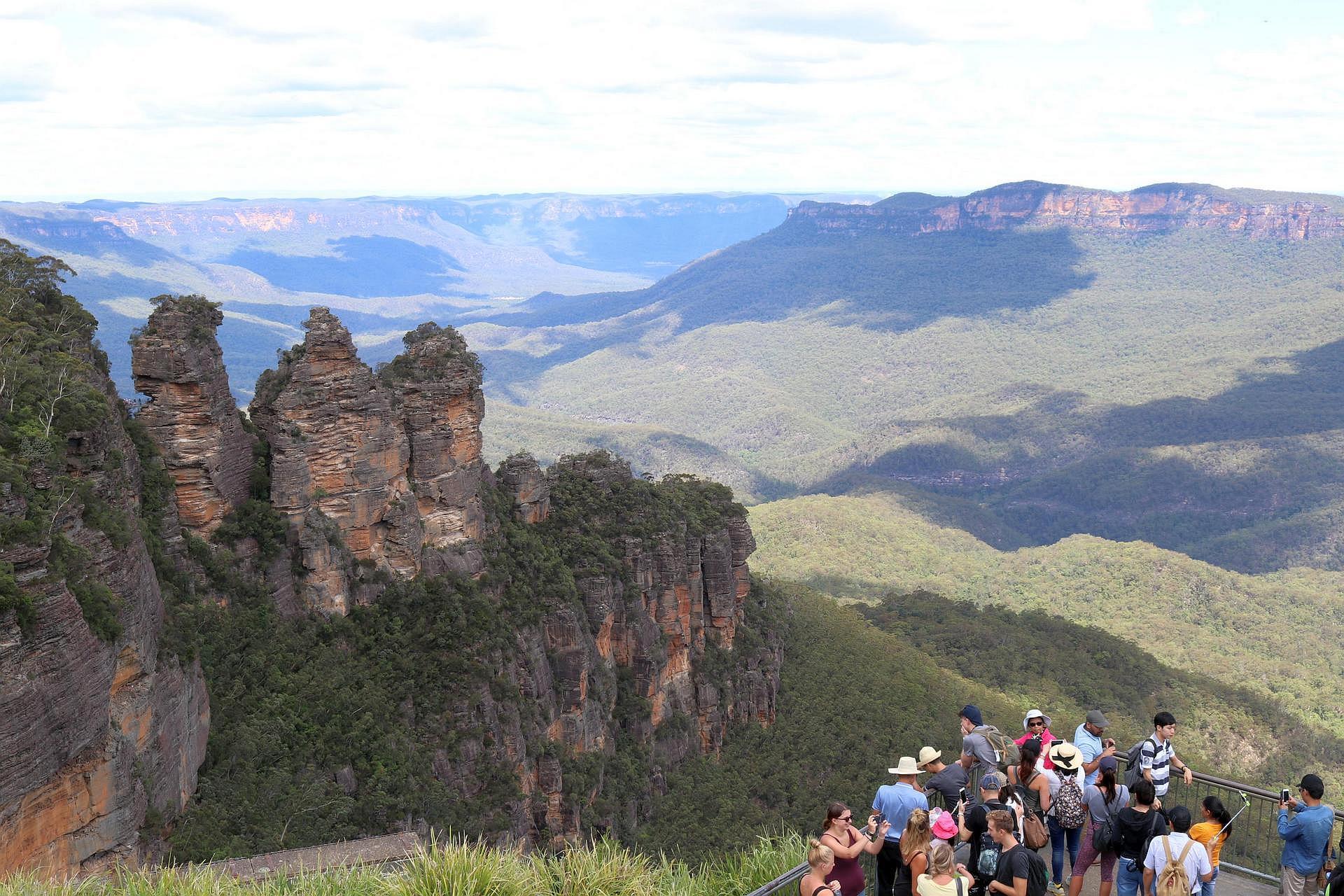 Australia Południowo-Wschodnia, Blue Mountains