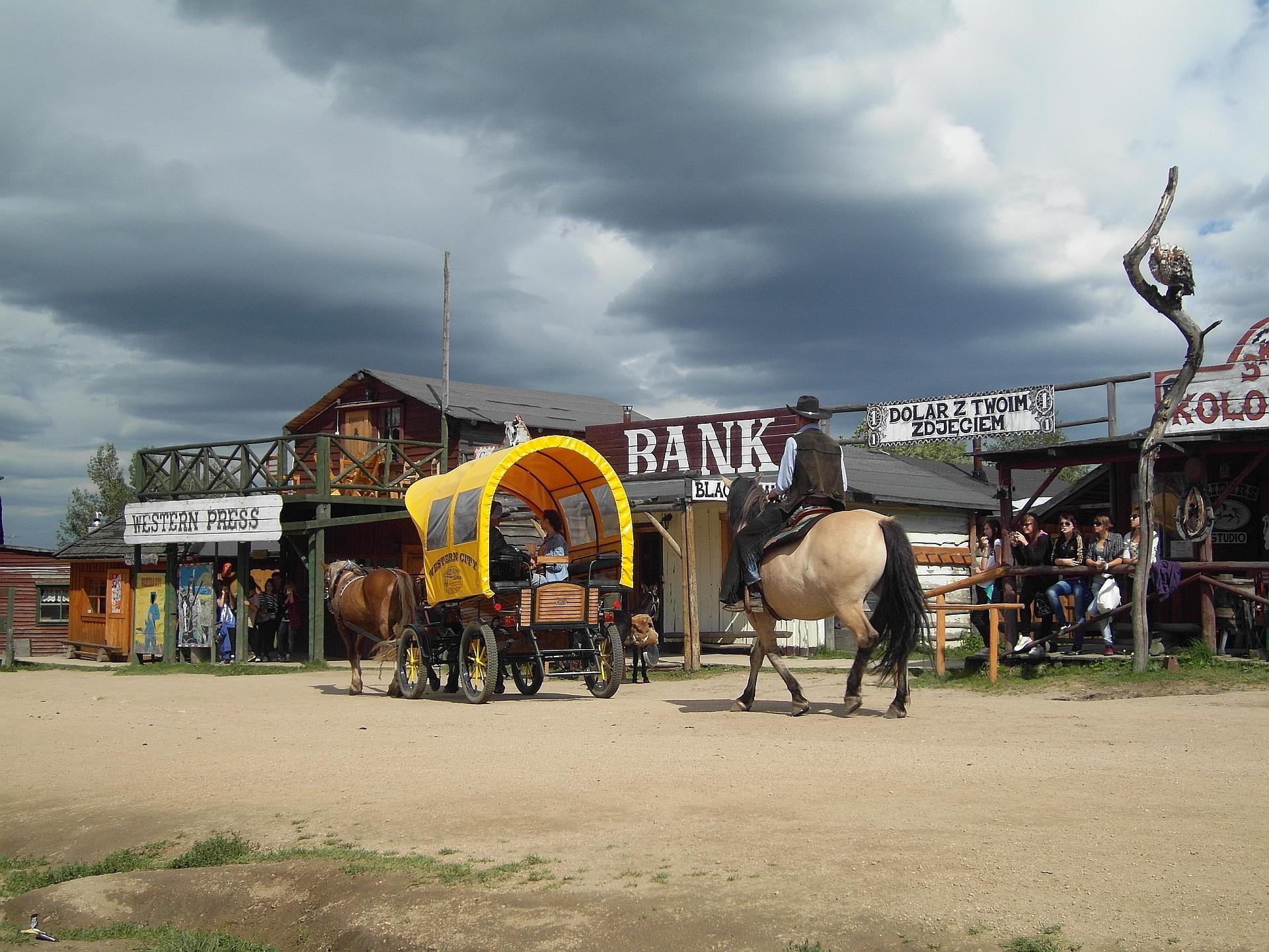 Miasteczko Western City w Ściegny koło Karpacza