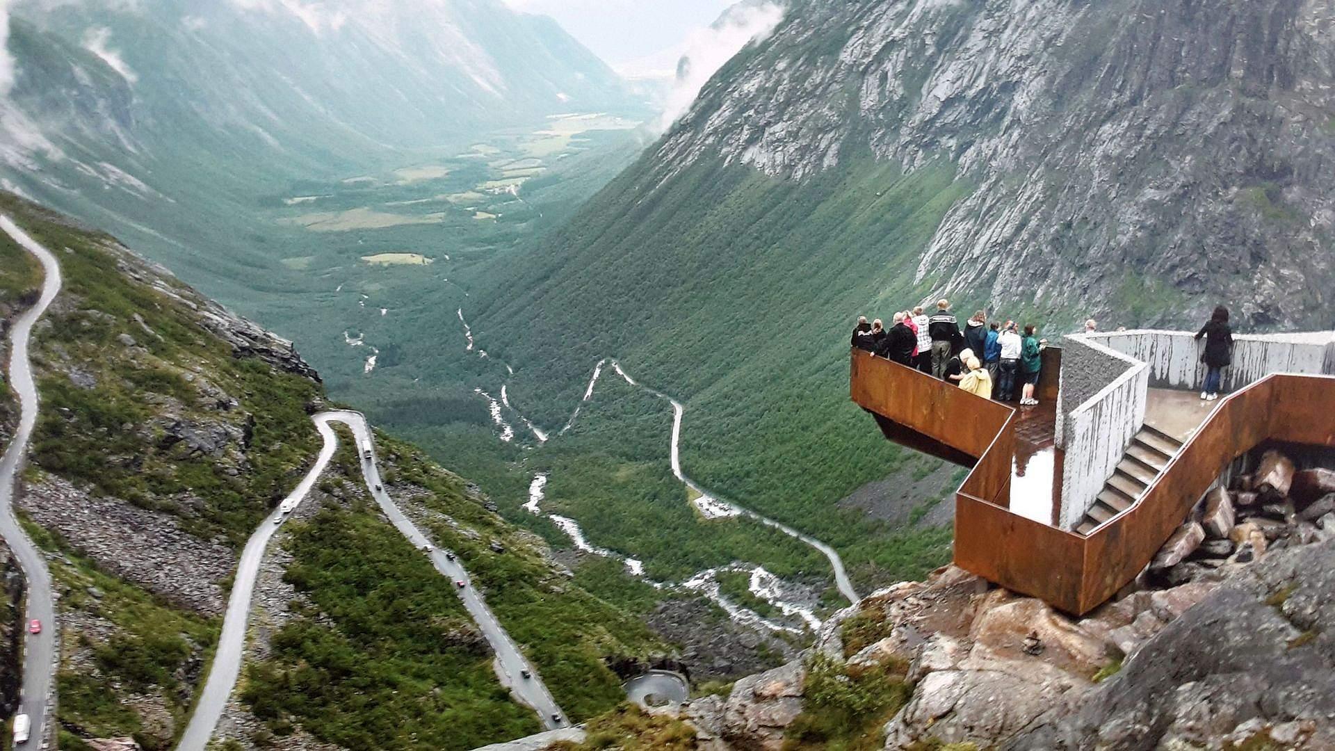 Najpiękniejsze miejsca w Skandynawii, Droga Trolli