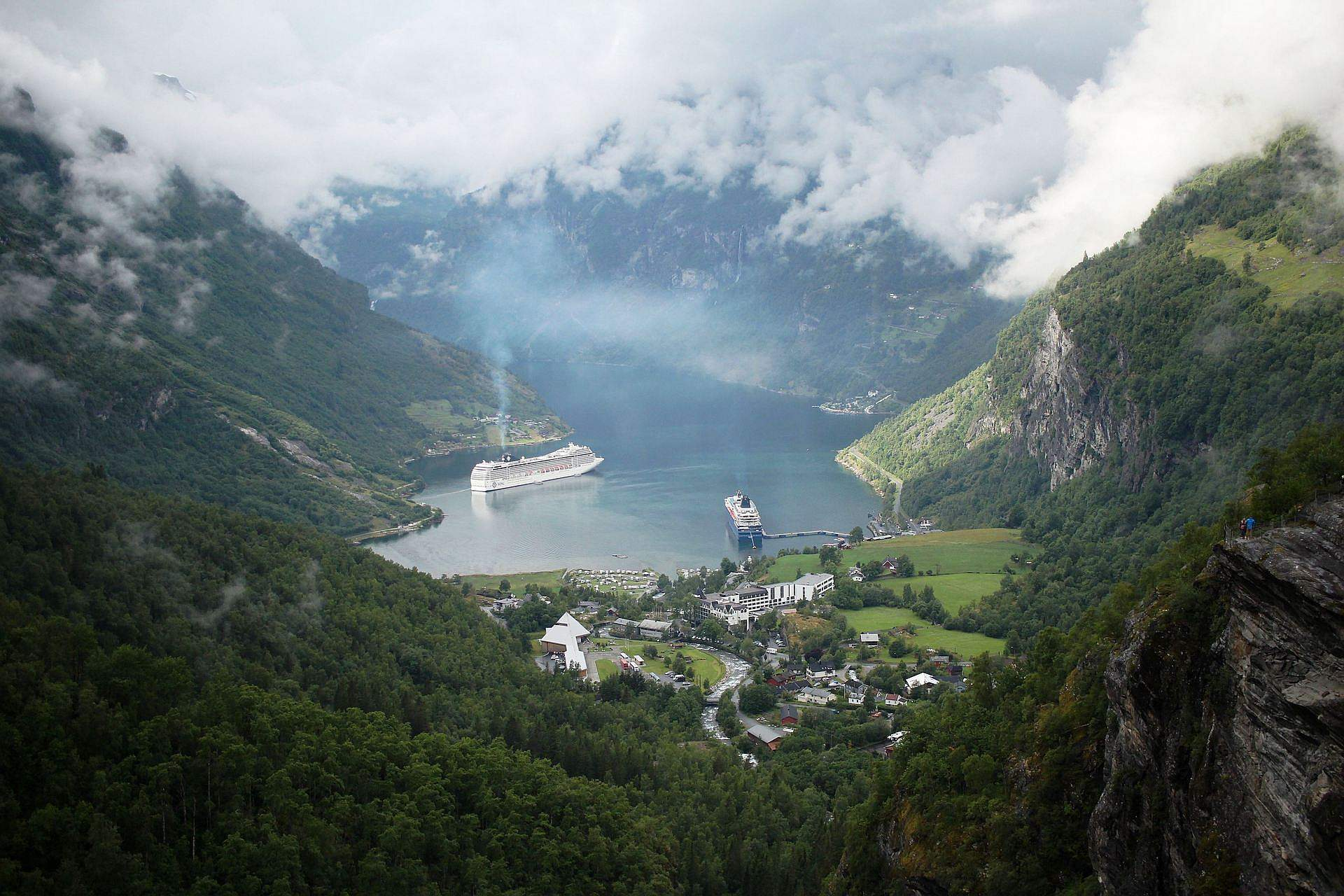 Najpiękniejsze miejsca w Skandynawii, fiord Geiranger