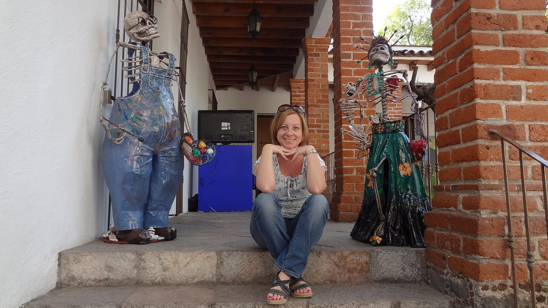 Weekend w Meksyku w czasach koronawirusa Frida Kahlo Muzeum