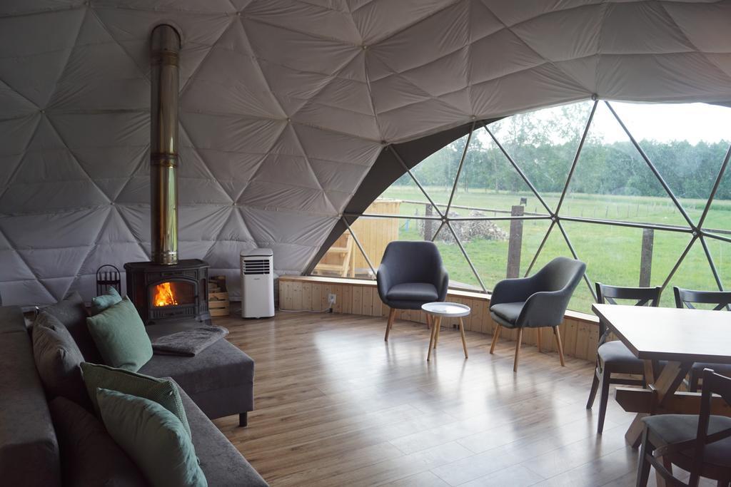 Niezwykłe miejsca w Polsce Namiot sferyczny