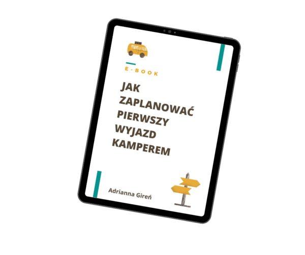 E-book Jak zaplanować pierwszy wyjazd kamperem