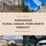 Skały i skałki w Karkonoszach, które musisz zobaczyć