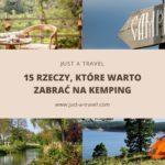 15 rzeczy, które warto zabrać na kemping